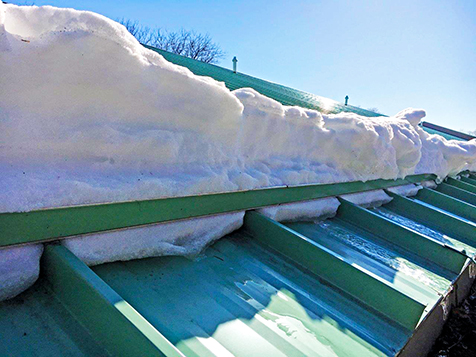 Heritage Steel Buildings Blog: Steel Building Snow Loads